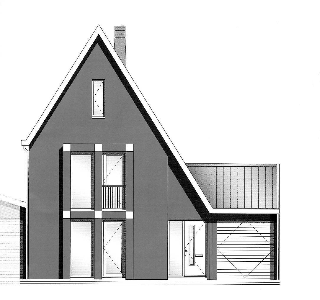 Nieuwbouwwoning in hoorn - Ingang van een huis ...